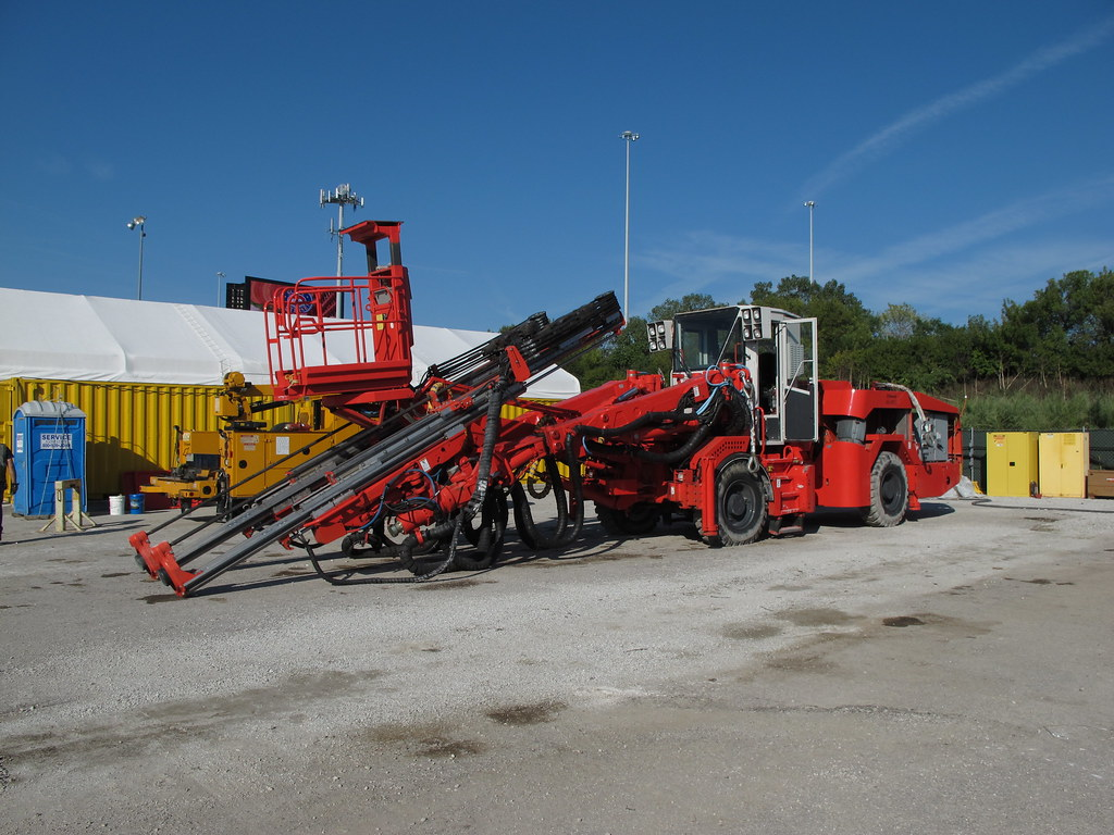 Sandvik DT820 Jumbo | Formerly the Tamrock Axera 8 | Kelly