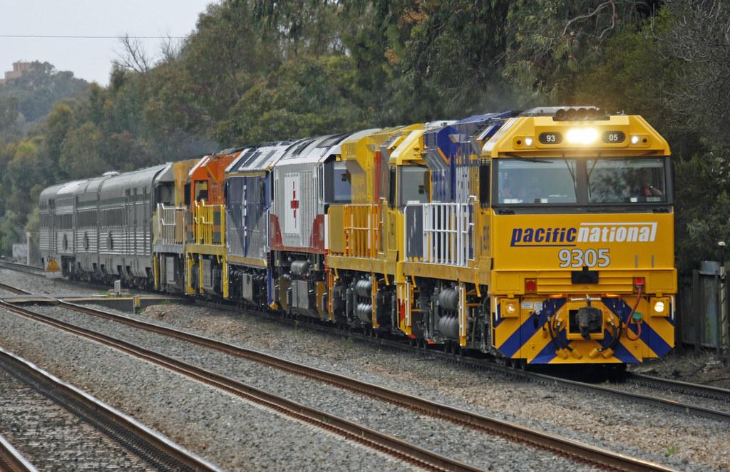 ARA Trans-Australian Railway Centenary Train by Maikha Ly