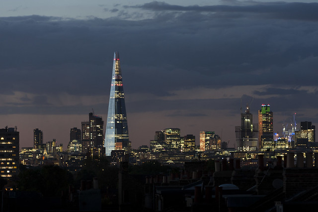 The Shard looking all beautiful