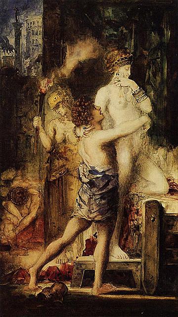 Pintura de l'execució de Mesalina.