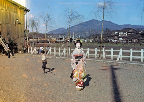 Kyoto c. 1950s | by sleepingcow