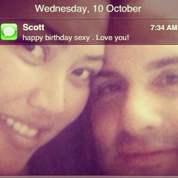 A happy birthday wish from the man ❤ #itsmybirthday #birth