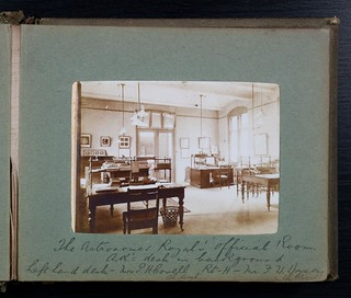 """The Astronomer Royal's official Room"" - Royal Observatory Greenwich ca 1900 
