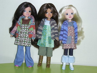 Moxies in Handmade clothes for Blythe