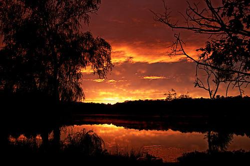 sunset lake nikon michigan sunsets government baldwin hdr m37 us10 michigansunset michigansunsets baldwinmichigan d7000 hdrtist governmentlake