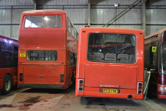Carousel Buses 925 H554GKX & DAF976 R976FNW