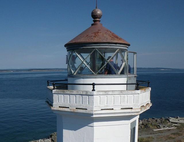 Point Wilson Lighthouse - Coast Guard Inspection