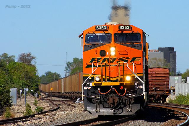 Westbound BNSF Loaded Coal Train at Olathe, KS