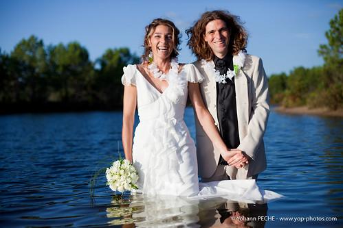 Mariage à Lacanau