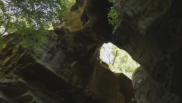 Medley Arch, Brandon Page, Fall Creek Falls SP, Van Buren Co, TN