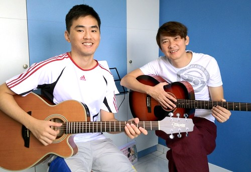 Guitar lessons Singapore Nelson