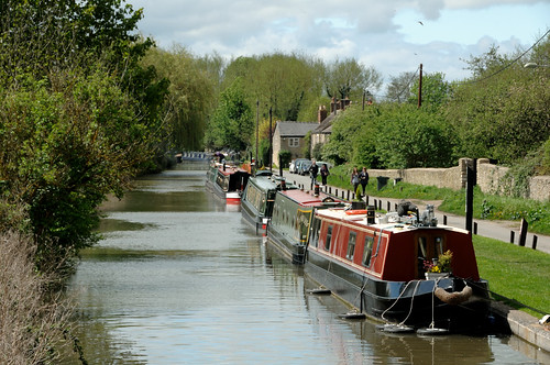 Canal Road, Thrupp, Oxfordshire OX5 | by John Willoughby