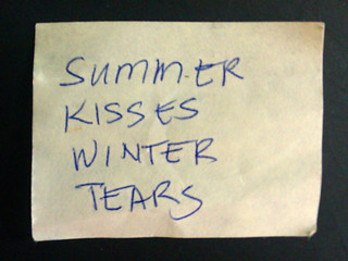 Summer Kisses Winter Tears | by ornoth