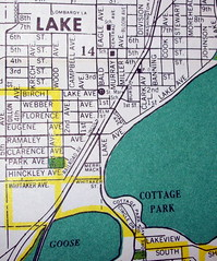 White Bear Lake - St Paul MN 1952
