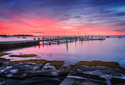 bluehour connecticutphotographer dawn endersisland landscapephotographer morning naturephotographer photographicart sunrise unitedstates digital stonington connecticut us