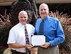 Michael Weinstock service award