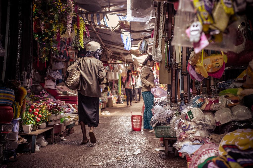 Binh Long | small town market / 小城市场 / chợ thành phố nhỏ