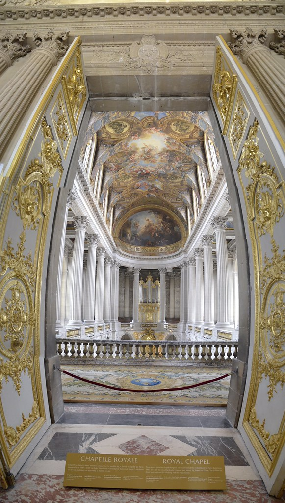 ... Versailles Inside Chapel - Vertical Stitch *explored* | by SpirosK photography