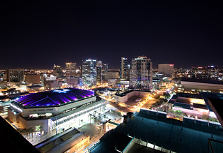 Downtown Phoenix Skyline Lights | by squeaks2569