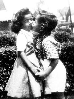 Kissing cousins on Mott Street