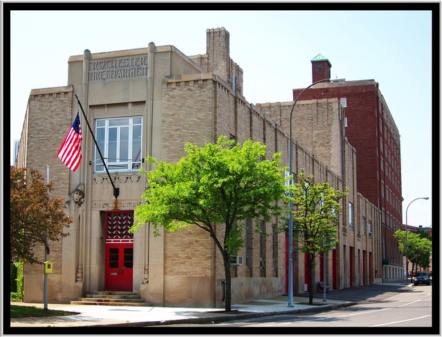 Rochester NY ~ Rochester Fire Department Headquarters and Shops