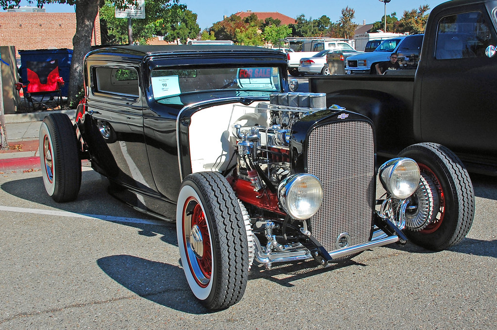 1932 Chevy coupe | Owner Dave Houston Livermore | F R Childers