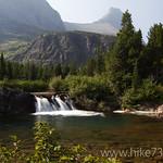 Above Redrock Falls
