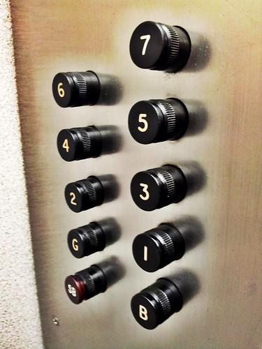 Elevator buttons | by RaeAllen