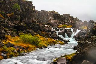 Downstream. Öxarárfoss, þingvellir, Iceland. | by mistersnappy
