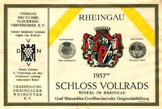 1957 - Schloss Vollrads (Rhine)