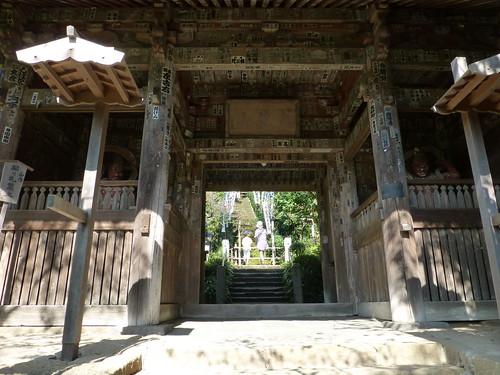 2012/10/08 (月) - 12:58 - 杉本寺 - 仁王門