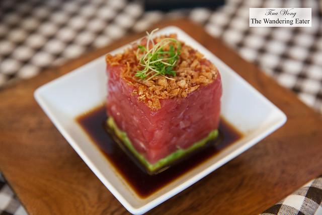 Tuna tartare by Chef David Burke,BLT Prime