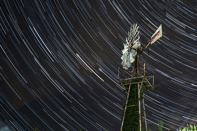 40 Minute Star Trails 29/08/16