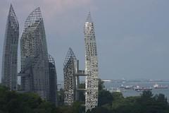 Reflections Condo from Henderson Wave pedestrian bridge, Singapore