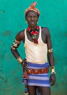 Hamer man, Turmi, Ethiopia | by Eric Lafforgue