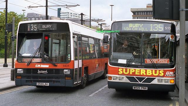 GM Buses 1401 (D501LNA) & 515 (M515PNA)