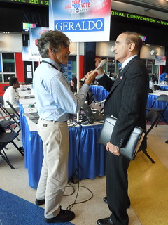 Robert Weiner on live with Geraldo Rivera (ABC Radio)