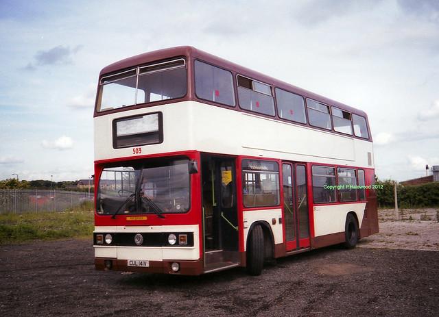 London Suburban Bus 503 (CUL141V)
