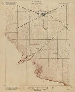 Tracy, California Quadrangle Topo 1916