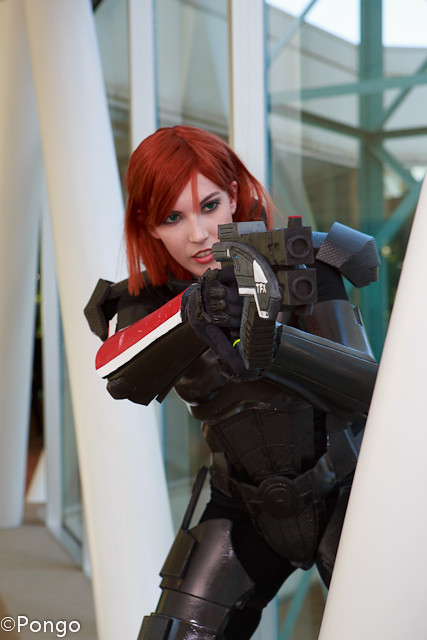 Cosplay Paradise Self Female Commander Shepard From Mas