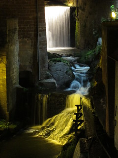Saarburg waterfall at night | by Abby flat-coat