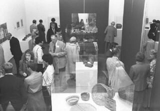 Native American Art Exhibit in Montgomery Gallery in November 1979