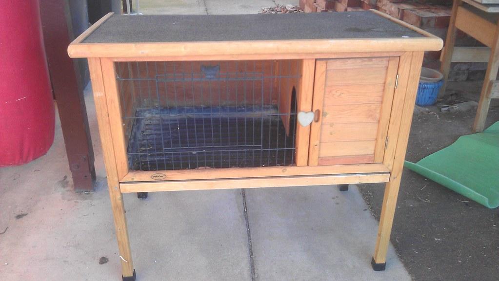 Guinea pig cage | Freecycled | Jimee, Jackie, Tom & Asha