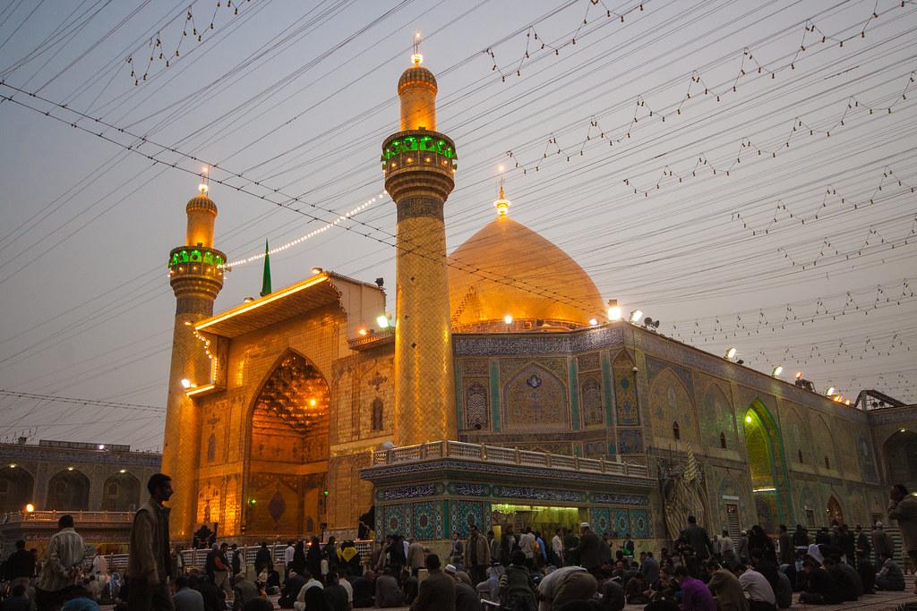 Maula Ali Shrine Wallpaper: Shrine Of Imam Ali (A.S) Najaf - Iraq