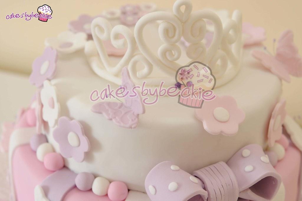 Princess Birthday Cake For Little Girl