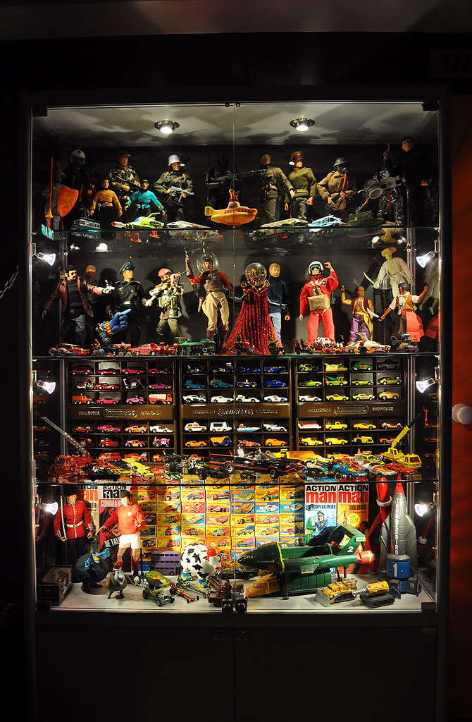 Toy Collection Display Cabinet Face Ache Flickr