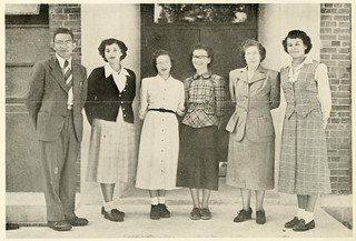 Library Staff, Pembroke State College, 1950 | by North Carolina Digital Heritage Center