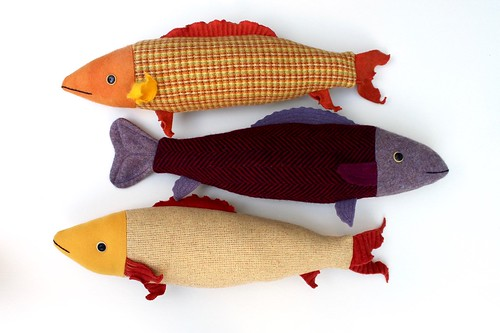goldfish and purple fish | by Mimi K