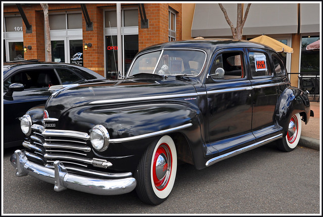 1947 Plymouth Special Deluxe 4 Door Sedan