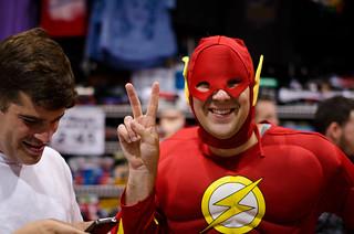 Flash Comes in Peace